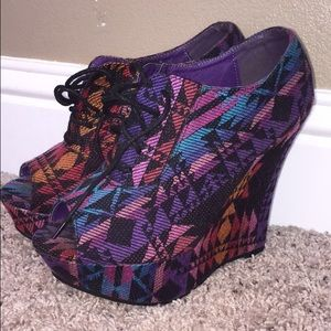 Traffic Shoes - Wedges
