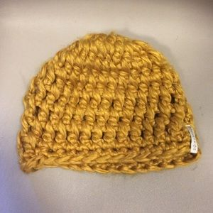 Gold/Yellow Knit Beanie Hat