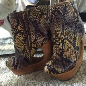 Jeffrey Campbell's worn no more than three times
