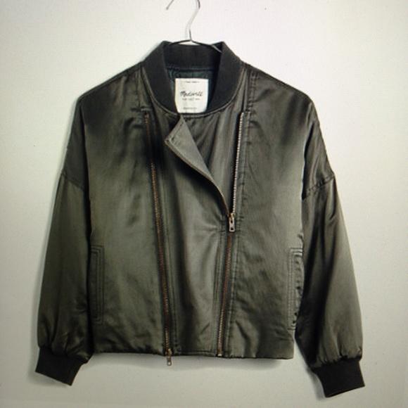 23% off Madewell Jackets & Blazers - Madewell Biker Bomber Jacket ...
