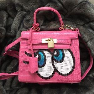 Handbags - Hot Shy Girl purse/ Pink