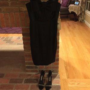NWT Jill Jill Stuart Size 6 bow black cocktail