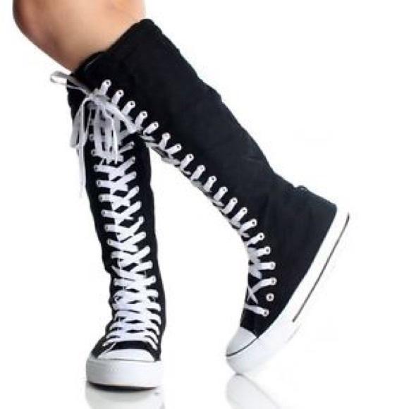 converse chuck taylor all star knee high