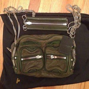 Alexander Wang Brenda Bag (green, New! With tags)
