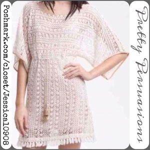 Sanctuary Tops - Sanctuary Designer Bohemian Crochet Fringe Tunic