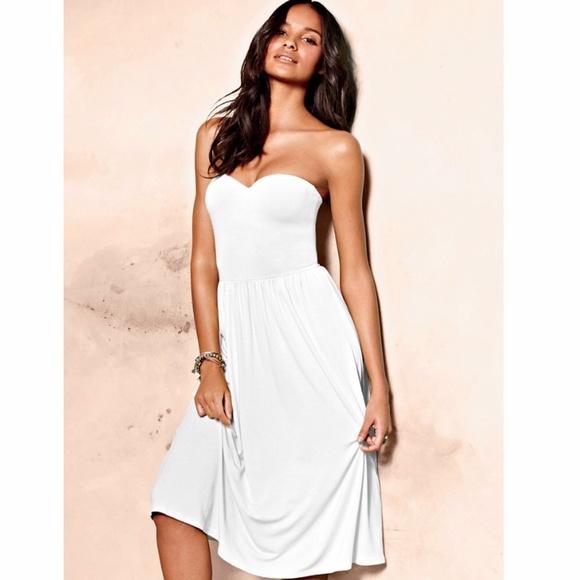 6baacb8160 Victoria's Secret Dresses | Victorias Secret Strapless Bra Top Dress ...
