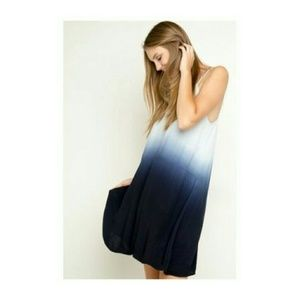 Brandy Melville Blue Ombre Brit Dress