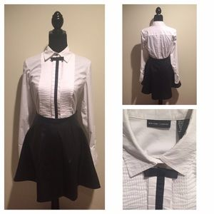 Black and White Classic Blouse
