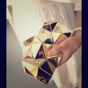Futuristic Metal Clutch