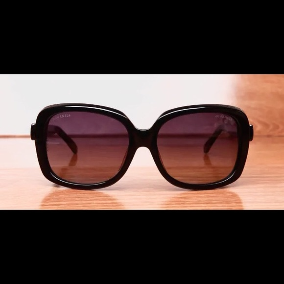 Purple Chanel Sunglasses Authentic Chanel Sunglasses