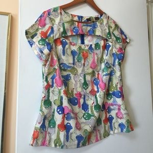 Anthropologie Tops - Modcloth Anthropologie Eva Franco key top $142