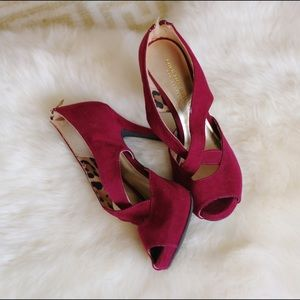 Christian Siriano Shoes - Christian Siriano for Payless cranberry pumps