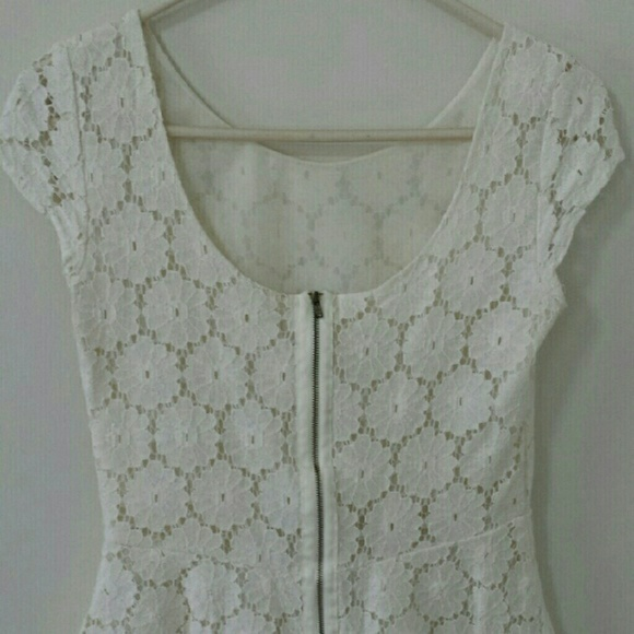Xhilaration Tops - Lace peplum top