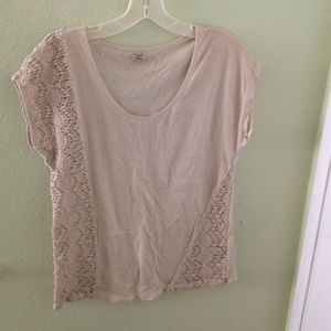 Urban Outfitters crotchet detailed top