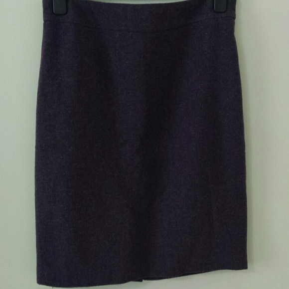 Merona Skirts - Purple tweed pencil skirt
