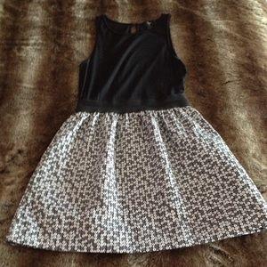 Aqua Silver and Gray Faux Sequin Dress