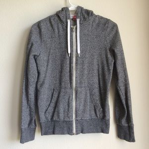 H&M Sweaters - Gray Grey Hoodie Sweater