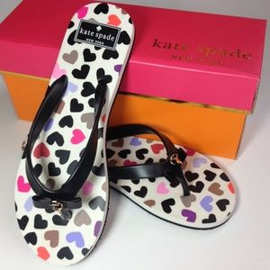 kate spade Shoes - ️NWT Kate Spade Charm Flip Flops Sandals