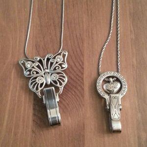 43 off brighton accessories brighton badge holder from for Brighton badge holder jewelry