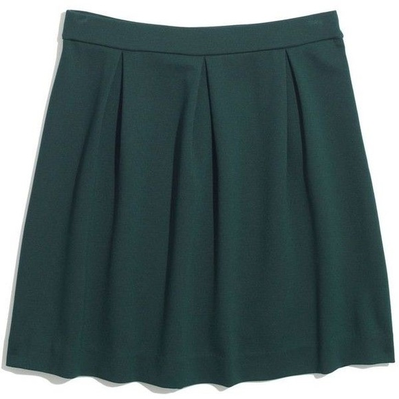 68% off Madewell Dresses & Skirts - Madewell Forest Green Bistro ...