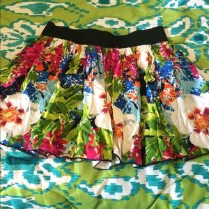 Delia's Dresses & Skirts - Delia's Bright Floral Skirt