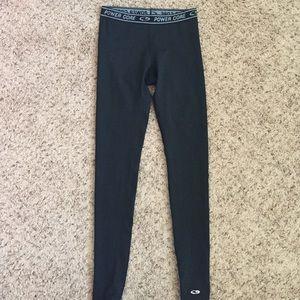 Pants - black power core yoga pants
