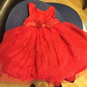 Baby girl red dress