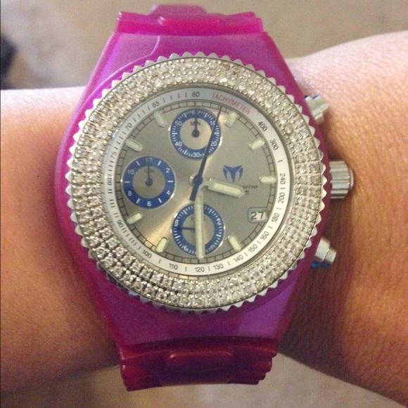 Technomarine Watch Diamond Bezel