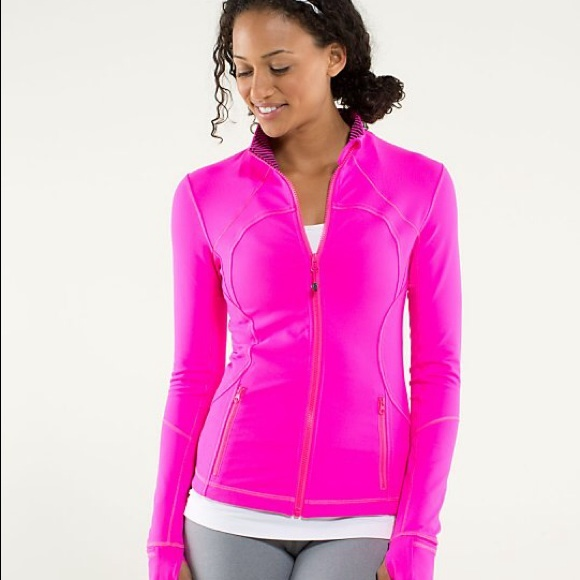 50% off lululemon athletica Jackets & Blazers - Hot Pink Lululemon ...