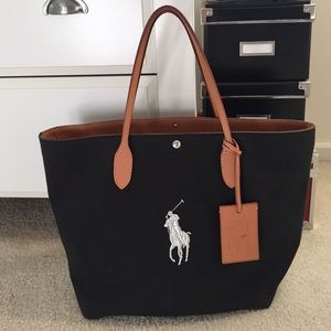 Ralph Lauren Canvas Tote