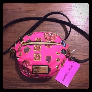 NWT Betsey Johnson mini crossbody bag