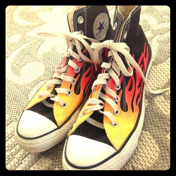 converse all star flames