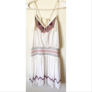 Free people tassel size S bohemian dress