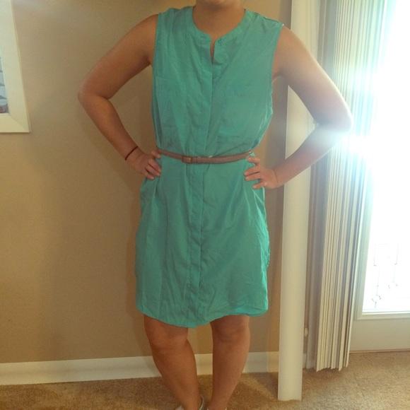 80 Off Mossimo Supply Co Dresses Skirts Shirt Dress