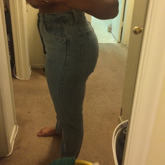 36% off American Apparel Denim - American apparel mom jeans size ...