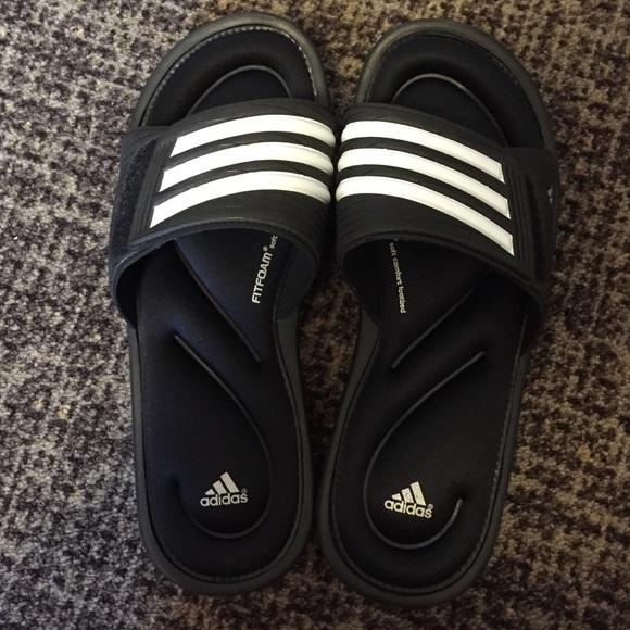 5a1b77d4cb05 Adidas Shoes - Adidas Memory Foam Slides