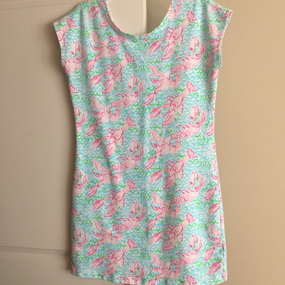 Lobstah Roll Lilly Pulitzer Dress images