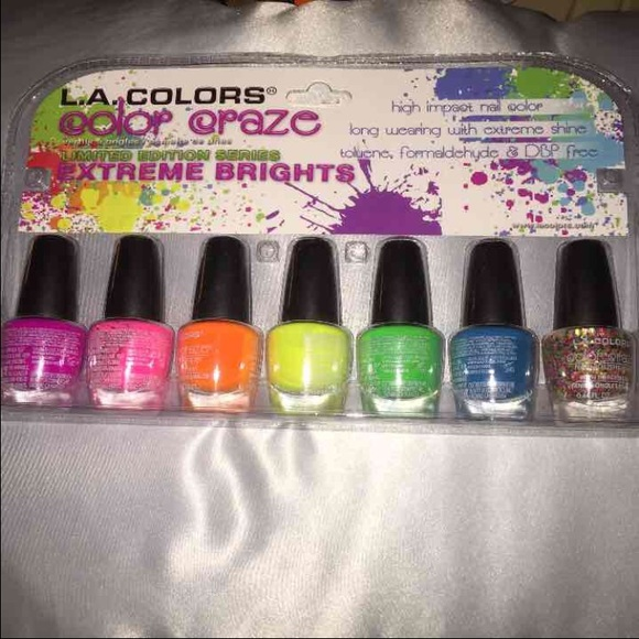 Other | La Colors Color Craze Extreme Brights Nail Polish | Poshmark