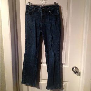 Banana Republic Jeans straight leg - 27/4 short