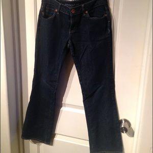 Banana republic jeans, curvy boot size 27