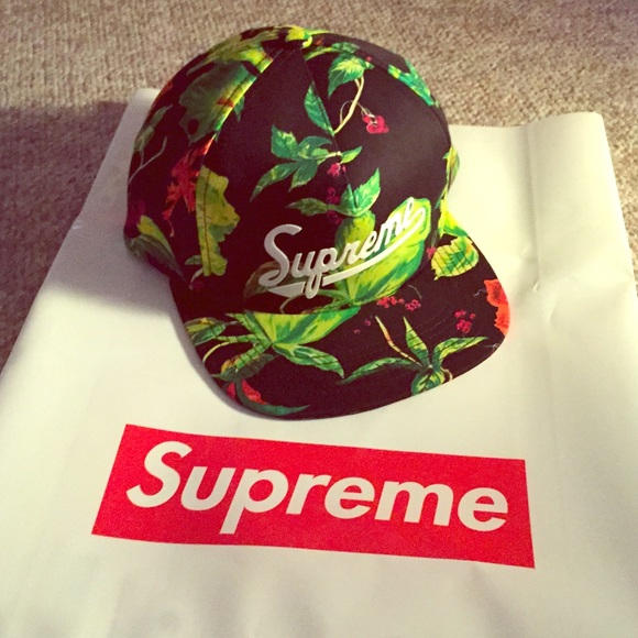 Supreme 2015 S S Currant 5-panel Hat add40546a45