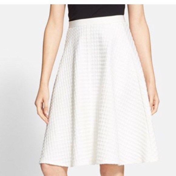 68% off Theory Dresses & Skirts - Theory white A-line skirt from ...