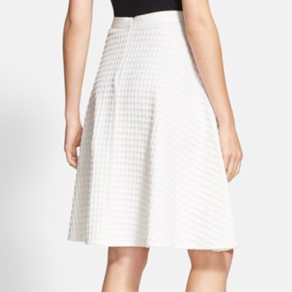 73% off Theory Dresses & Skirts - Theory white A-line skirt from ...