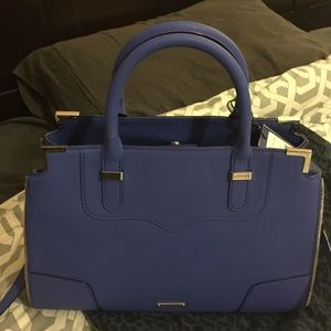 Rebecca Minkoff amorous satchel electric blue
