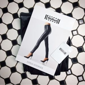 Wolford Pants - WOLFORD -- ESTELLA LEGGINGS 34