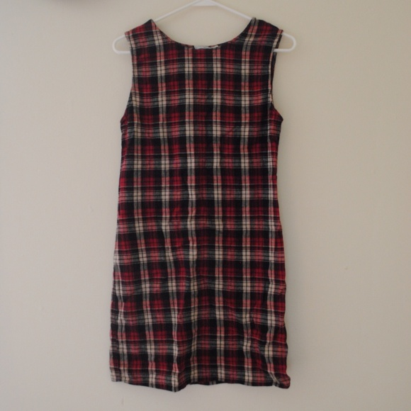 Dresses - PLAID MINI DRESS