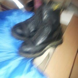 Doc Marten's black boots w/black laces