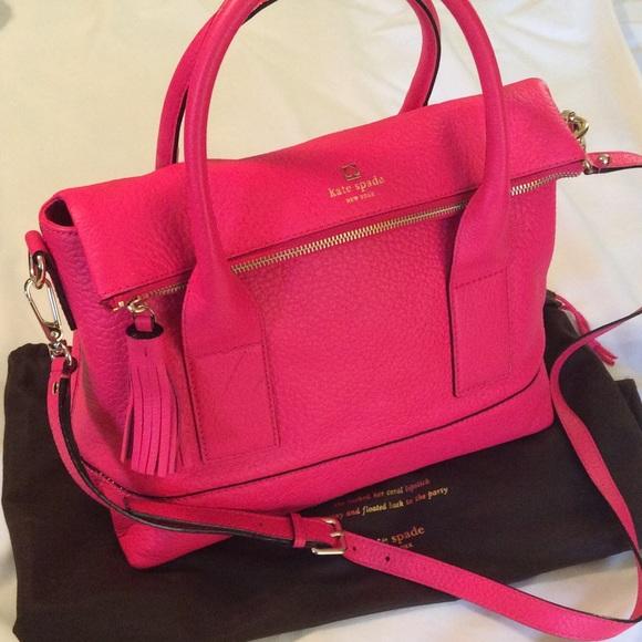 eabbbbcc443a Kate spade Carmen Southport avenue leather bag