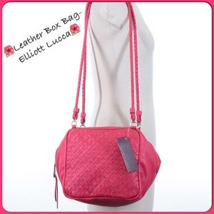 🌺Fabulous Basket Weave Leather Elliott Lucca Bag c602b9ed46311