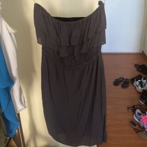 my story Dresses & Skirts - Strapless dress with elastic band back NWOT